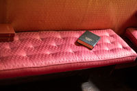 Holy Bible on a seat