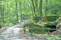 the historic Chalk Furnace in famous Neandertal Valley near Duesseldorf,Germany