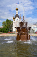 Chapel of St. Catherine and the Fountain Stone Flower  in Yekaterinburg