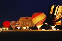 Night Glow on the Balloon Sail