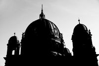Kuppel der Berliner Dom in SW