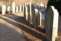 Historic Sailor Tombstones on Amrum