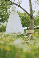 Garden Wedding bridal dress