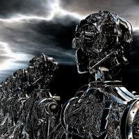 3D Illustration of Robots
