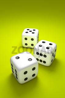 3 dice
