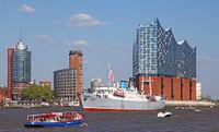 Stubnitz at the 827th Birthday of the Port of Hamburg 2016, Germany