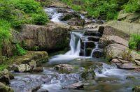 Bodewasserfall - waterfall river Bode