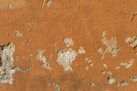 Alte orange Wand | Old orange wall