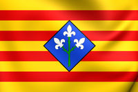Flag of Lleida Province