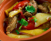 Turkish dish of lamb