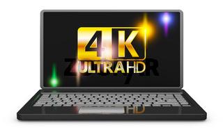 4K laptop