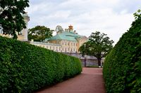 Grand Menshikov palace in  Oranienbaum – Lomonosov, St-Petersburg,