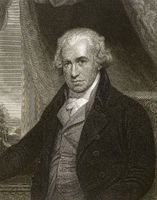 James Watt, 1736 - 1819, Scottish inventor of the steam engine