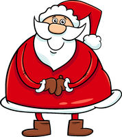 santa claus cartoon character