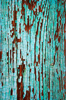 Macro of green wood planks