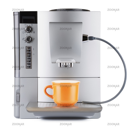 Coffee Machine With Cup