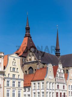 Historische Gebäude in Rostock