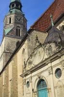 Hanover - Kreuzkirche and Duvekapelle (Cross Church and Duve Chapel)