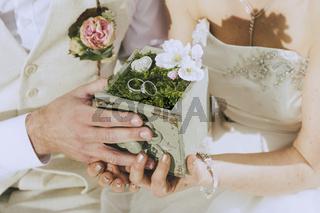 Garden Wedding Rings