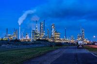 Refinery at the chemical site in Leuna Mitteldeutschland