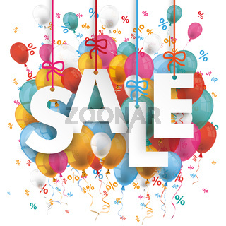 Sale Balloons Percents