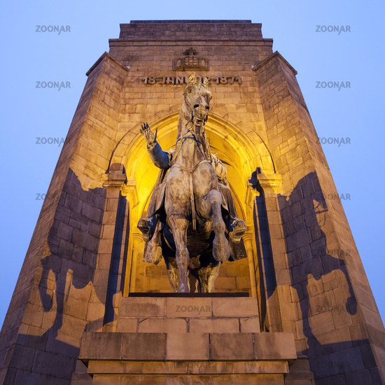 Emperor William monument in Dortmund-Hohensyburg