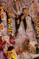 Durga puja  Navrata – Vacation Bonanza in West Bengal, festival concept