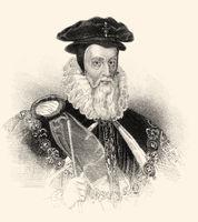 William Cecil, 1st Baron Burghley or Burleigh, 1520-1598, an English statesman