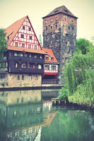 Henkerturm tower in Nuremberg