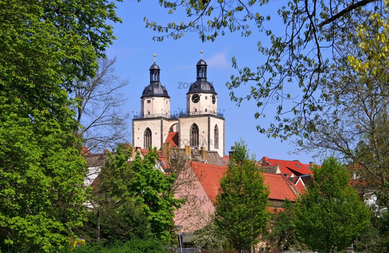 Wittenberg Stadtkirche - Wittenberg Town and Parish Church of St. Mary's