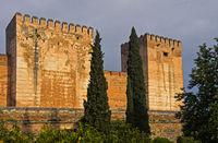 Türme der Zitadelle Alcazaba