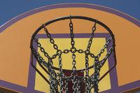 Steel Chain Basketball Net