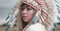 Indian etnic woman