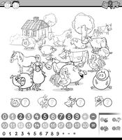 counting activity for coloring