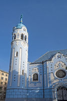 The Church of St. Elizabeth, Bratislava.