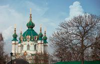 St Andrews orthdox church Kiev Ukraine