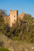 Tower of the Abbazia di Monteveglio