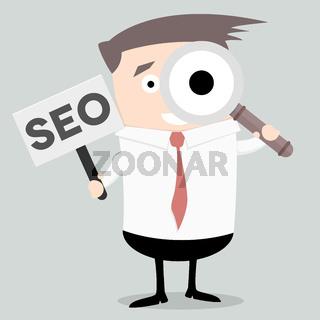 Businessman Search SEO