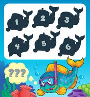 Fish riddle theme image 9 - picture illustration.