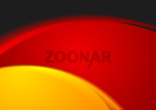 Bright wavy abstract background. German colors