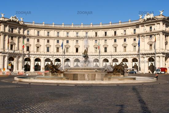 Piazza della Repubblica in Rome