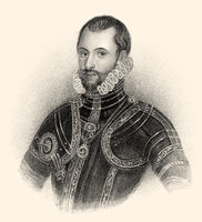 Walter Devereux, 1st Earl of Essex, 1541-1576, an English nobleman and general
