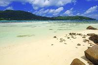 die traumhafte Bucht von Baie Lazare  , Insel Mahe, Westküste, S