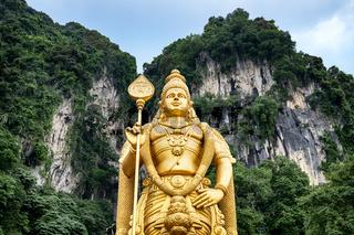 Murugan statue, Kuala Lumpur - Malaysia.