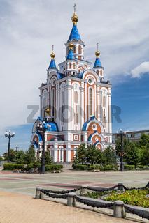 Russian Orhodox Church in Khabarovsk, Russia