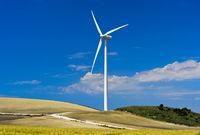 wind turbine near Jerez de la Frontera, Spain