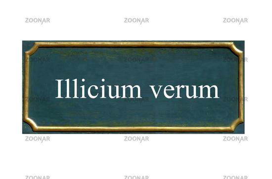 shield illicium verum