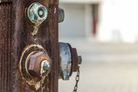 Rusted hydrant