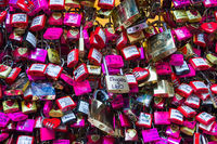 Love Padlocks in Verona