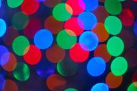 Bokeh light Christmas or New Year wallpaper